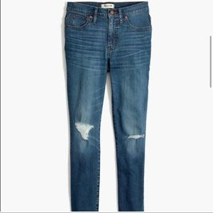 """Madewell 9"""" High-Rise Skinny Crop Jeans   Size 32"""